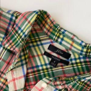 Lightweight Flannel Button Up Shirt
